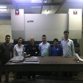 Cambodia Customers Visit Factories And Buy Press Brake Machines