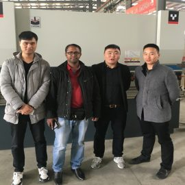Egypt Customers Visit Factories And Buy Press Brake Machines
