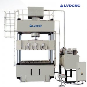 Hydraulic single column press machine