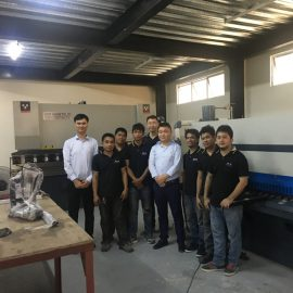 Indonesia Customers Visit Factories And Buy Press Brake Machines