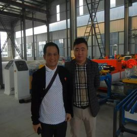 Indonesia Customers Visit Factories And Buy Shearing Machines