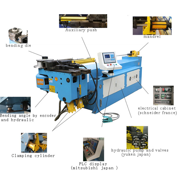 NC pipe bending machine - LVDCNC