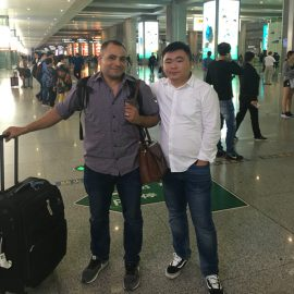 Russian Costomer Who Visited Factories And Buy The Press Brake Machine At The Airport