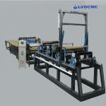 Uncoiling and dividing production line machine